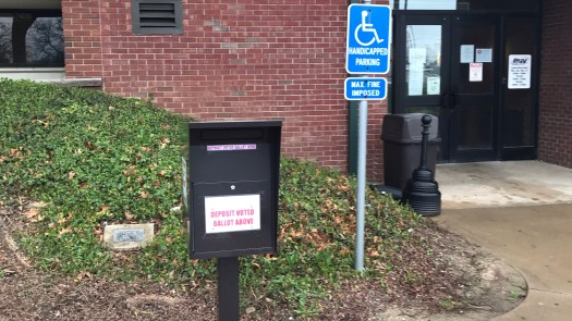drop box outside our office at 200 Vanover Street, Wooster